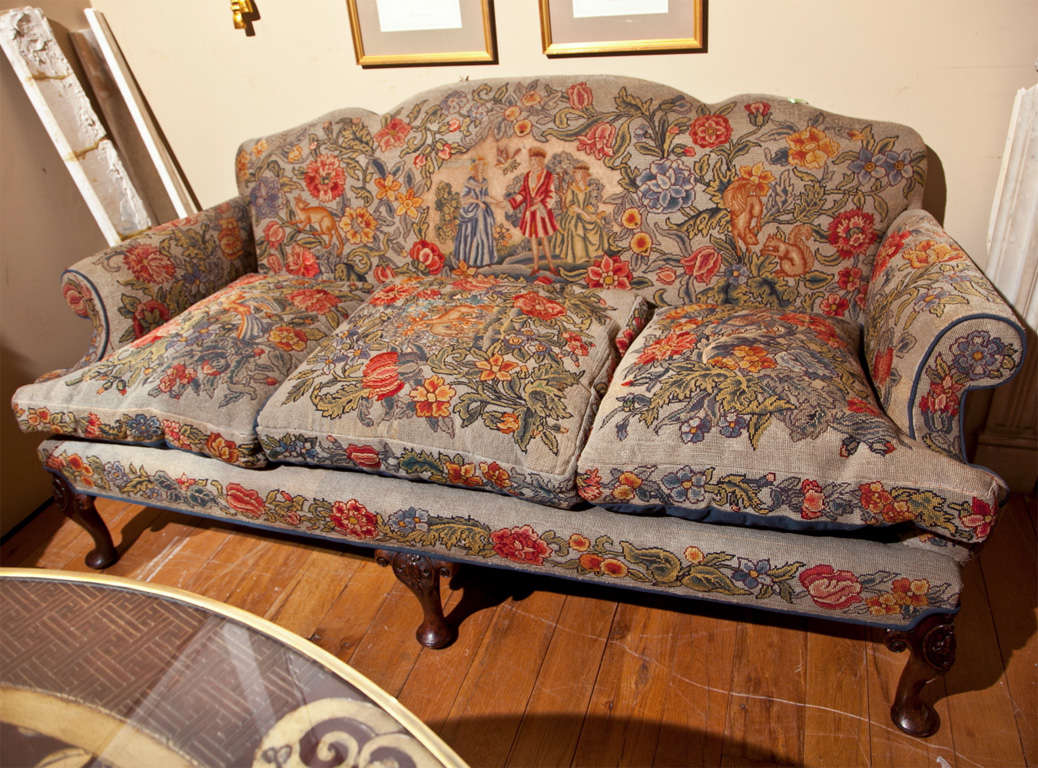 English Victorian Style Needlepoint Sofa at 1stdibs : IMG3274 from 1stdibs.com size 1038 x 768 jpeg 151kB