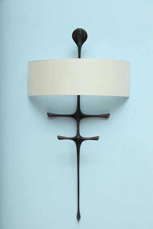 """Yali"" Sculptural Wall Sconce by Alexandre Logé image 2"