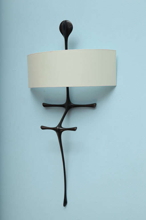 """Yali"" Sculptural Wall Sconce by Alexandre Logé image 3"