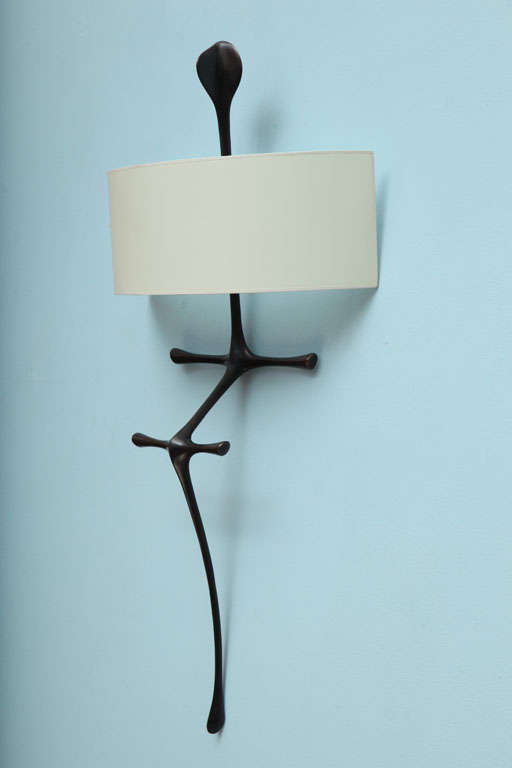 """Yali"" Sculptural Wall Sconce by Alexandre Logé image 4"