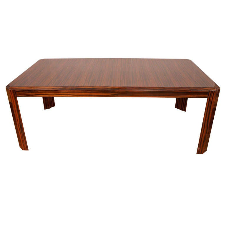 Pace Collection Macassar Dining Table