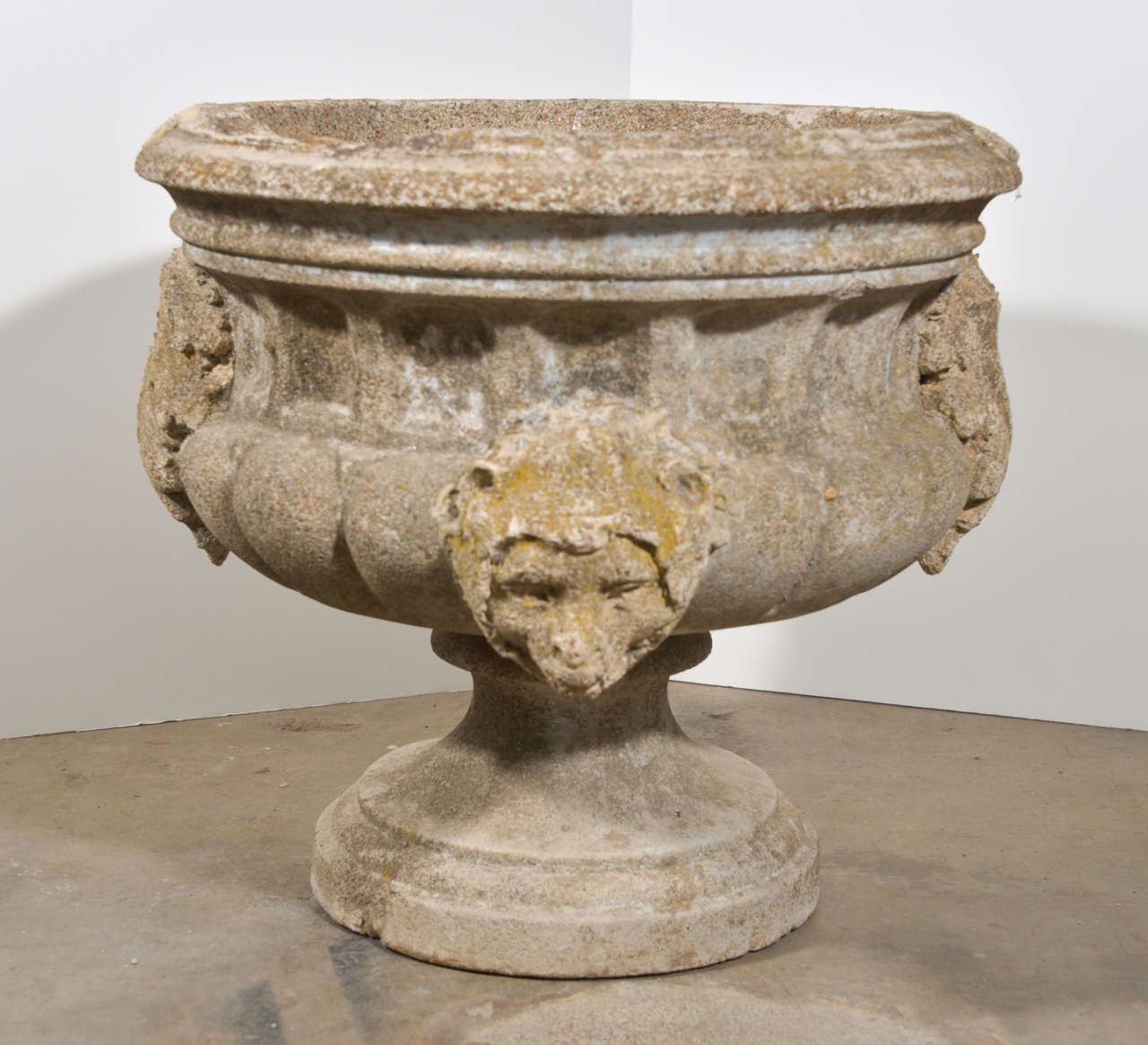 20th century italian concrete urn at 1stdibs