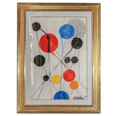 Original Alexander Calder Painting