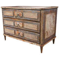 Continental Neoclassical Chest of Drawers