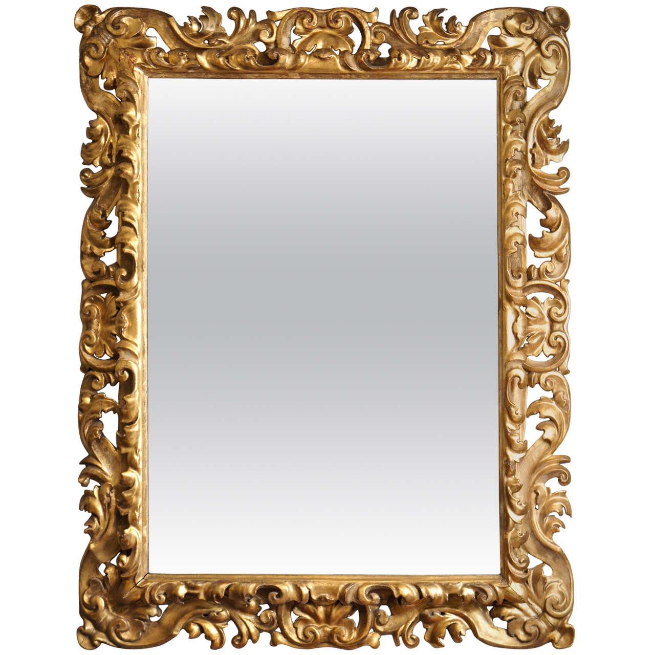 19th Century Florentine Mirror