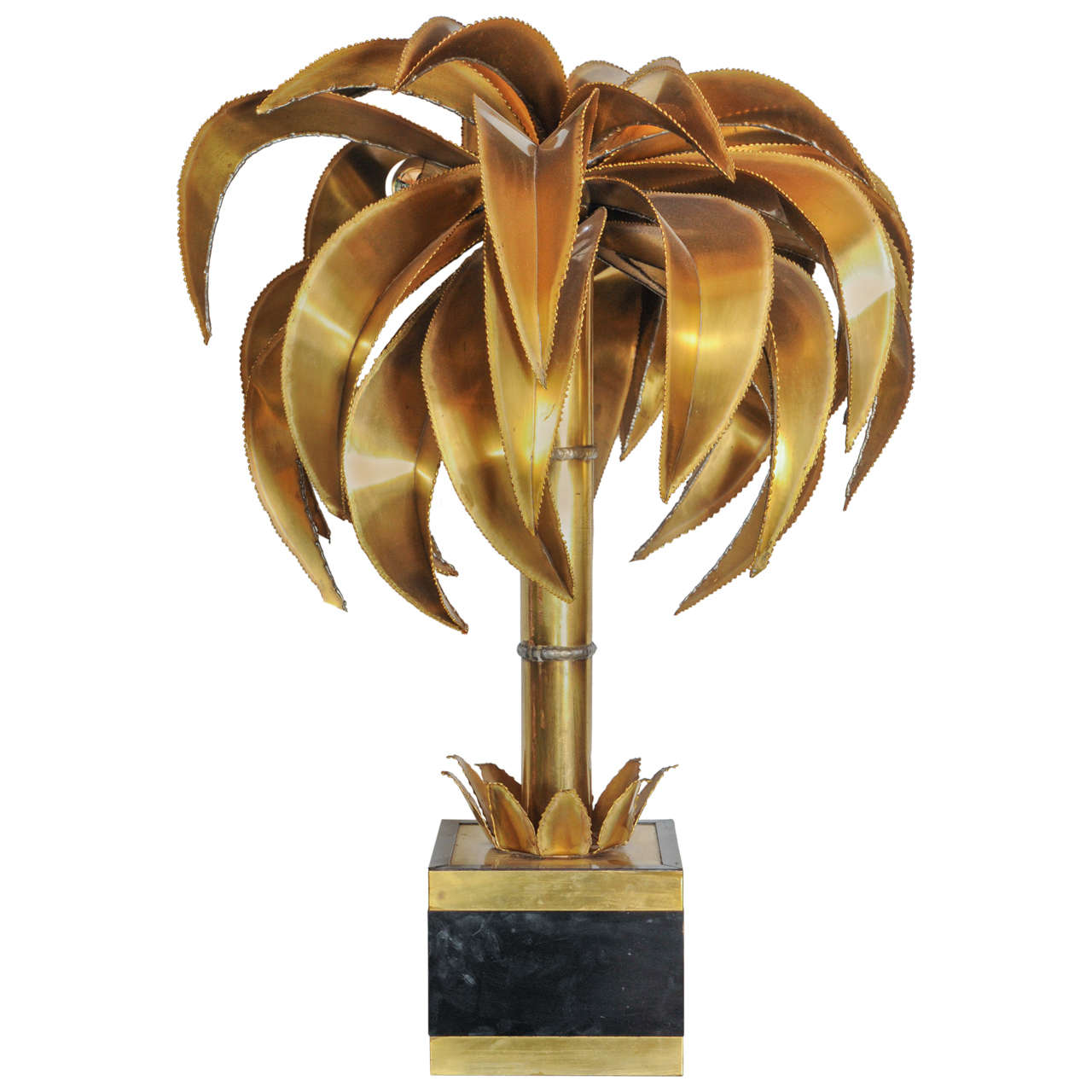this palm tree floor or table lamp by maison jansen is no longer. Black Bedroom Furniture Sets. Home Design Ideas
