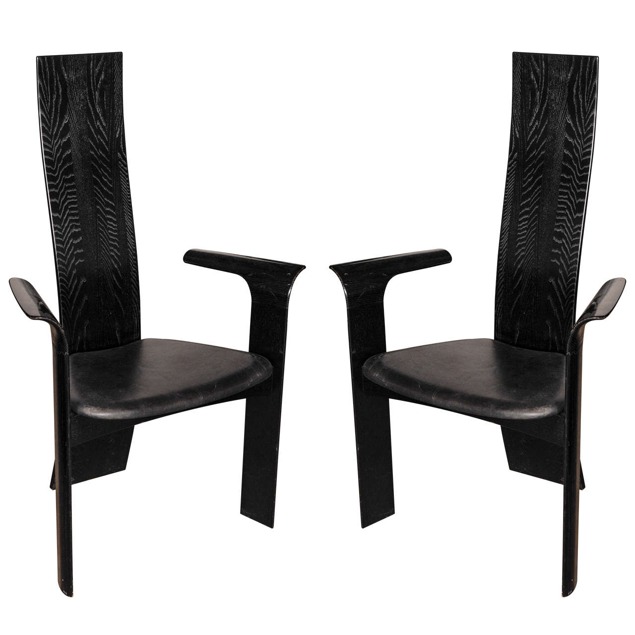 pair of tranekaer dining chairs type iris for sale at