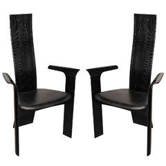 "Pair of Tranekaer Dining Chairs Type ""Iris"""