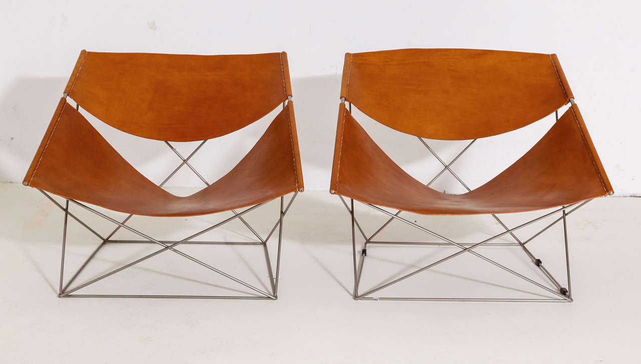 "pierre paulin ""butterfly"" chairs at 1stdibs"