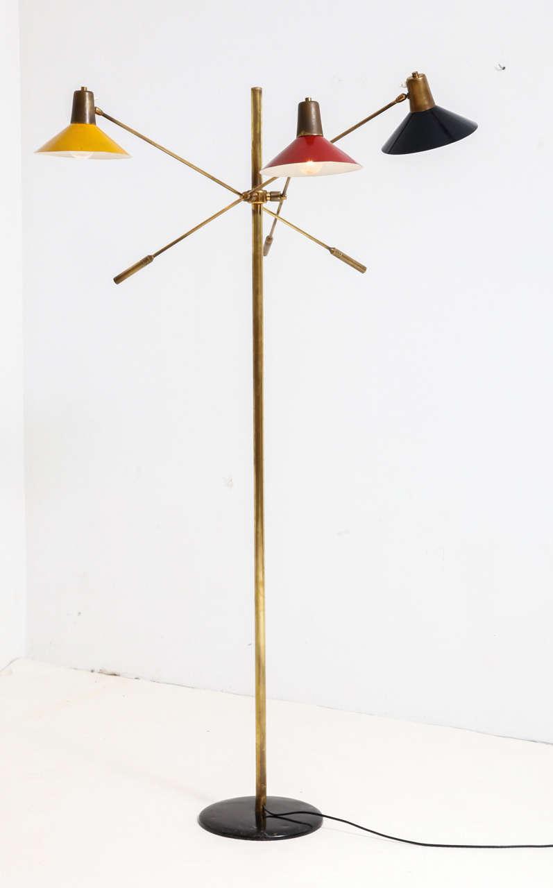 Floor Lamp, Italy, 1950s 2