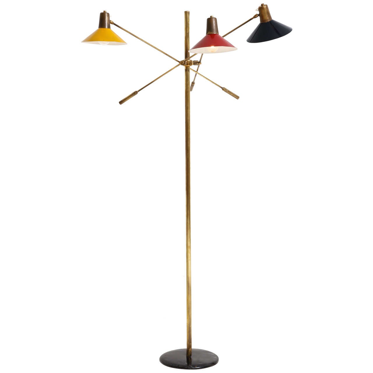 Floor Lamp, Italy, 1950s For Sale