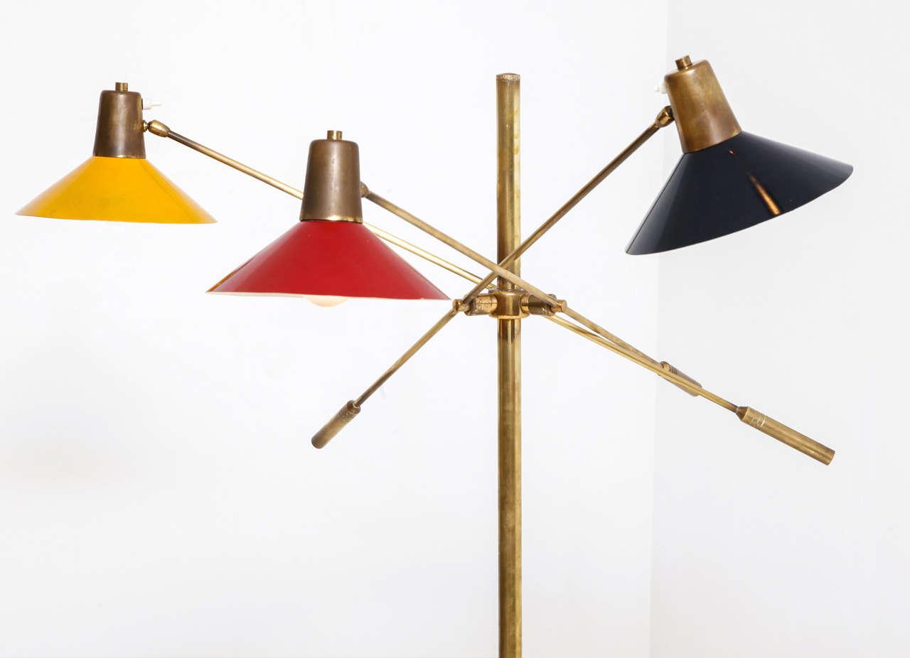 Floor Lamp, Italy, 1950s 4