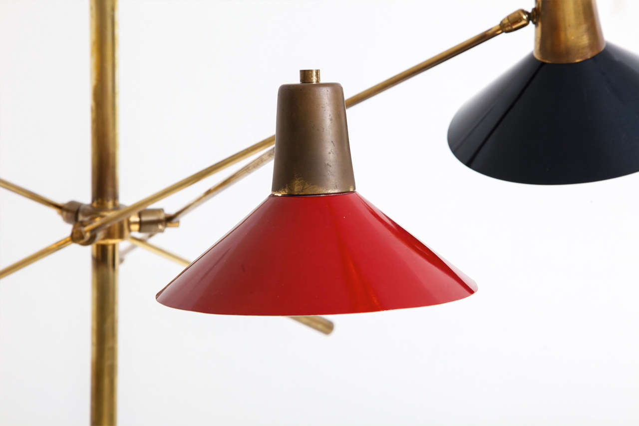 Floor Lamp, Italy, 1950s 6