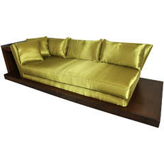 "Fabulous and Important ""Opium Den"" Sofa by James Mont"