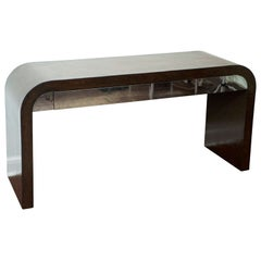 karl Springer Style Console Table