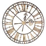 "Iron ""Skeleton"" Clock Face"