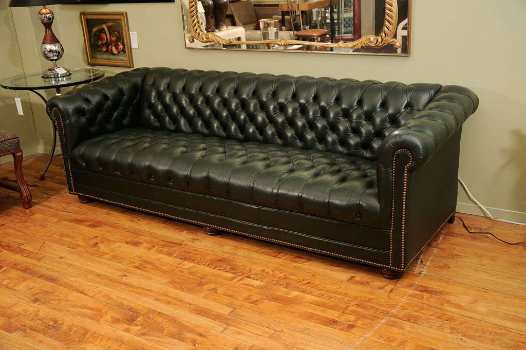 Vintage Chesterfield Sofa by Leathercraft image 8