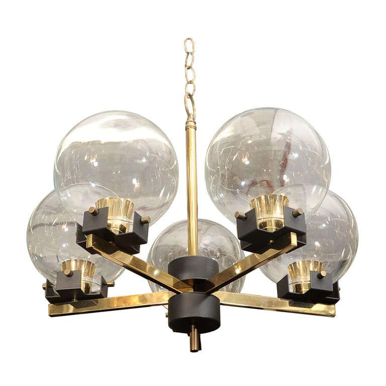 Mid century italian chandelier at 1stdibs mid century italian chandelier for sale aloadofball Choice Image