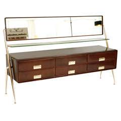 Italian Vanity Dresser by Silvio Cavatorta