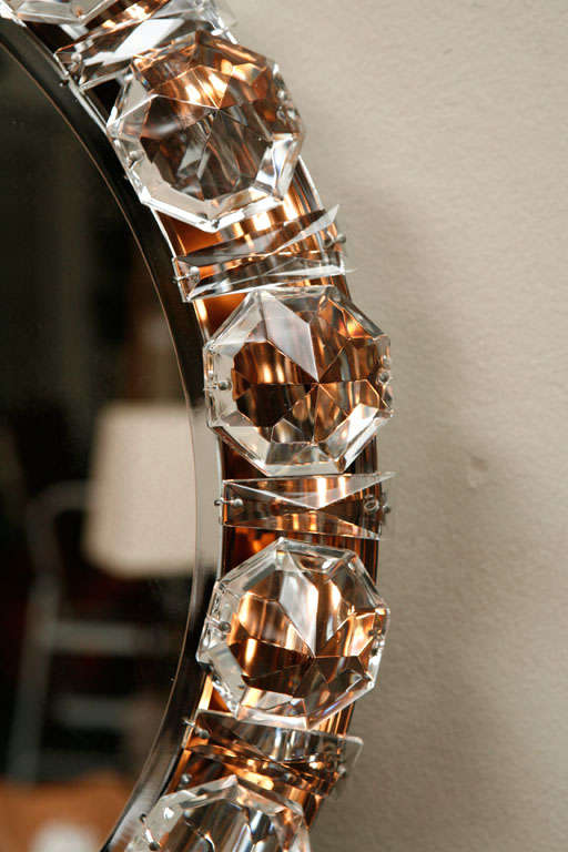 Austrian Crystal Backlit Mirror 2