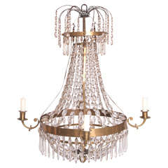 Early 19th Century Crystal Chandelier