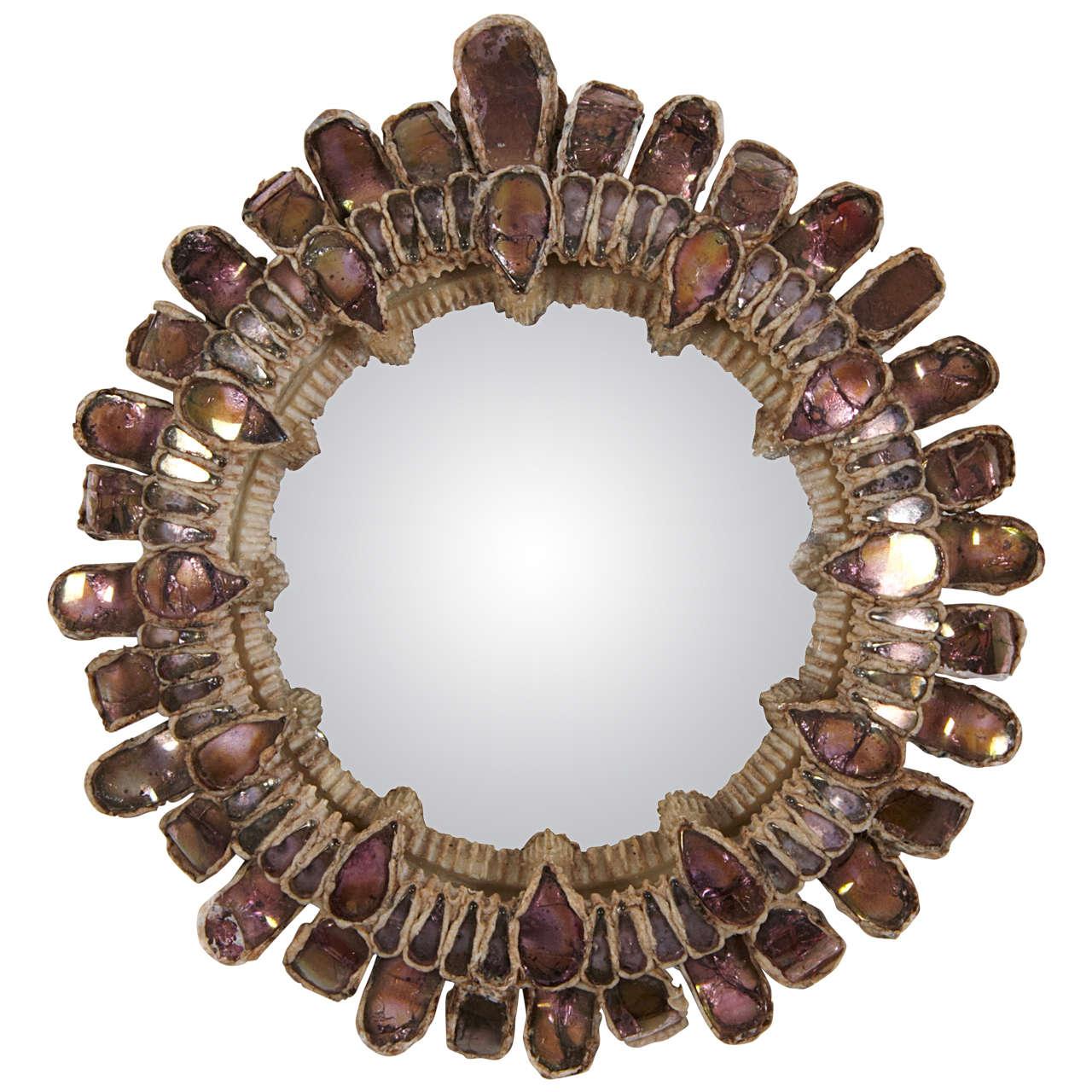 Line vautrin mirror gribiche for sale at 1stdibs for Miroir line vautrin
