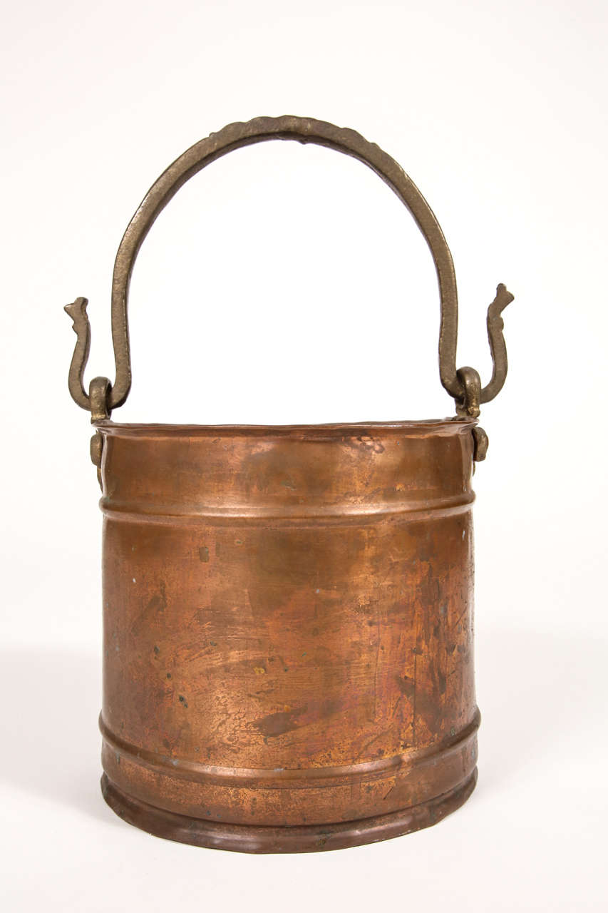 Small copper bucket at 1stdibs for Small pail buckets