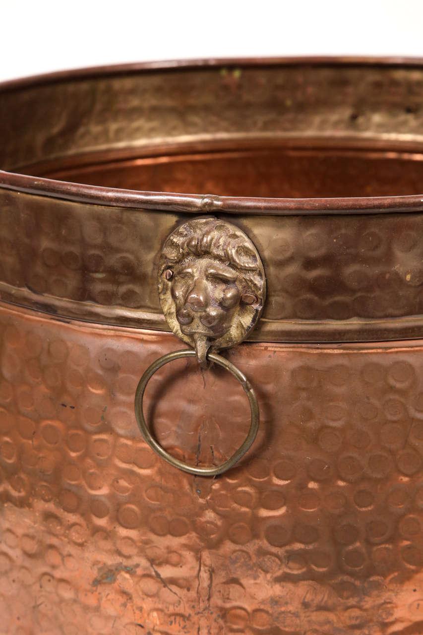 Hammered Copper Pot 6