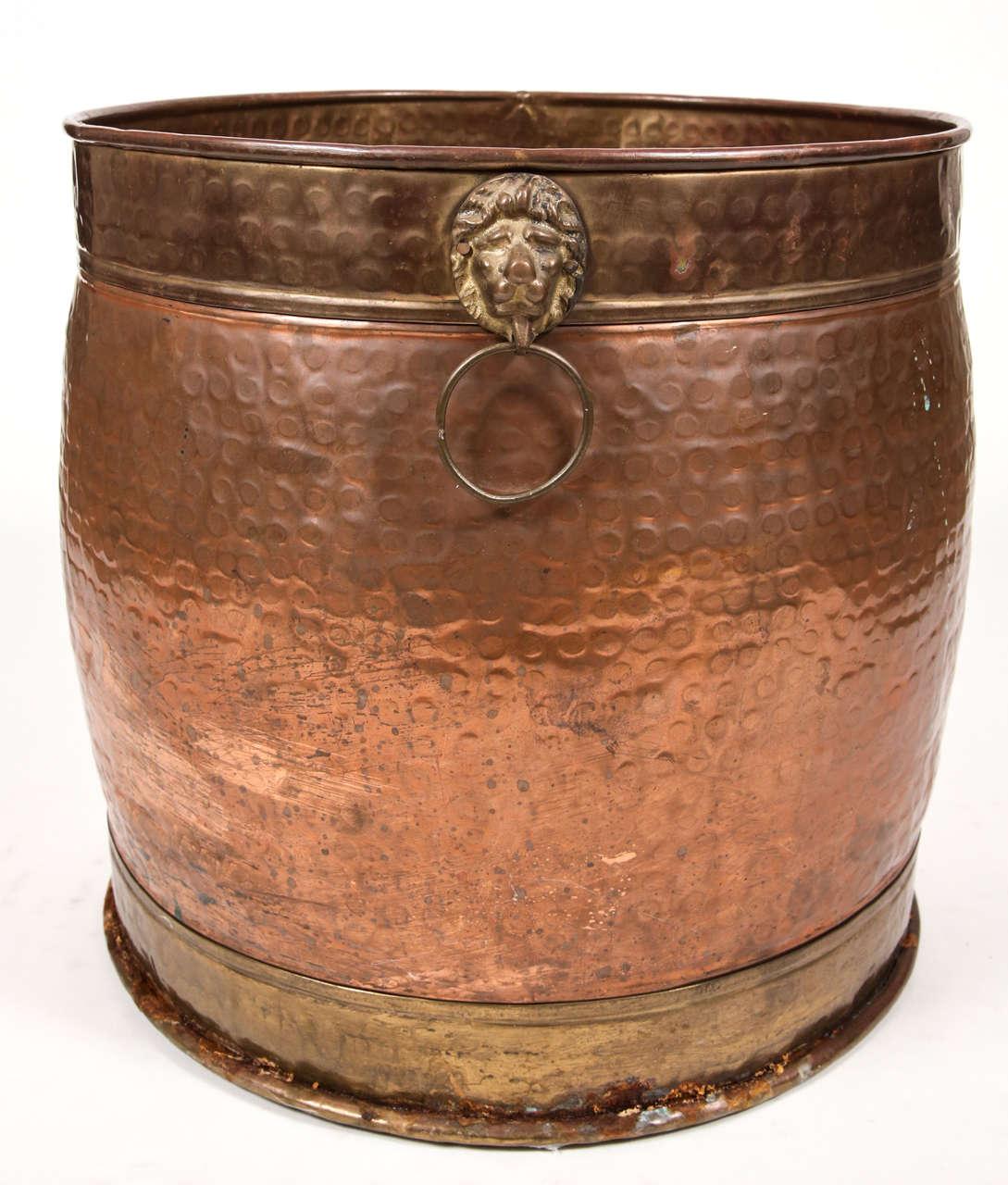Hammered Copper Pot 7