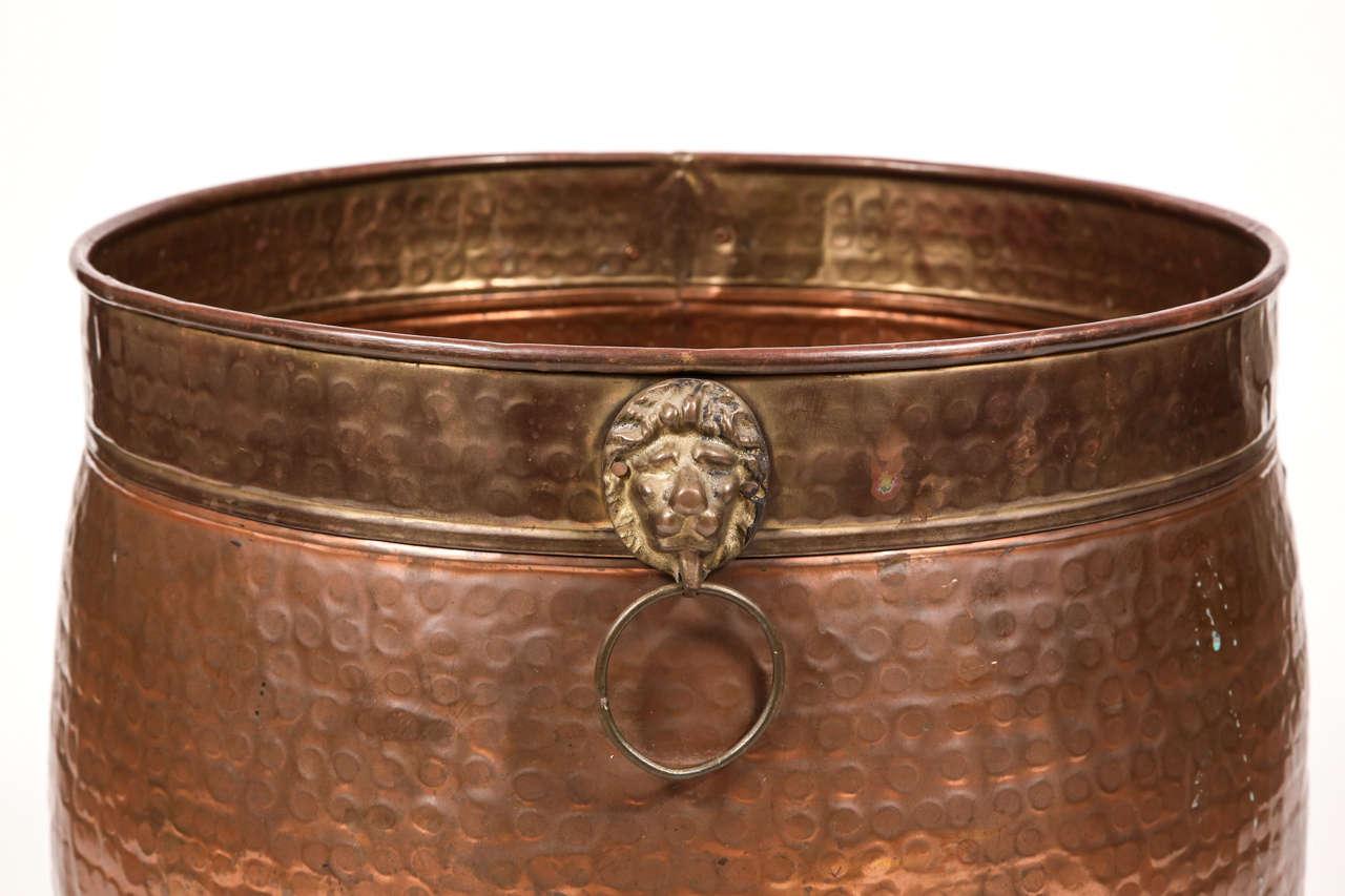 Hammered Copper Pot 8