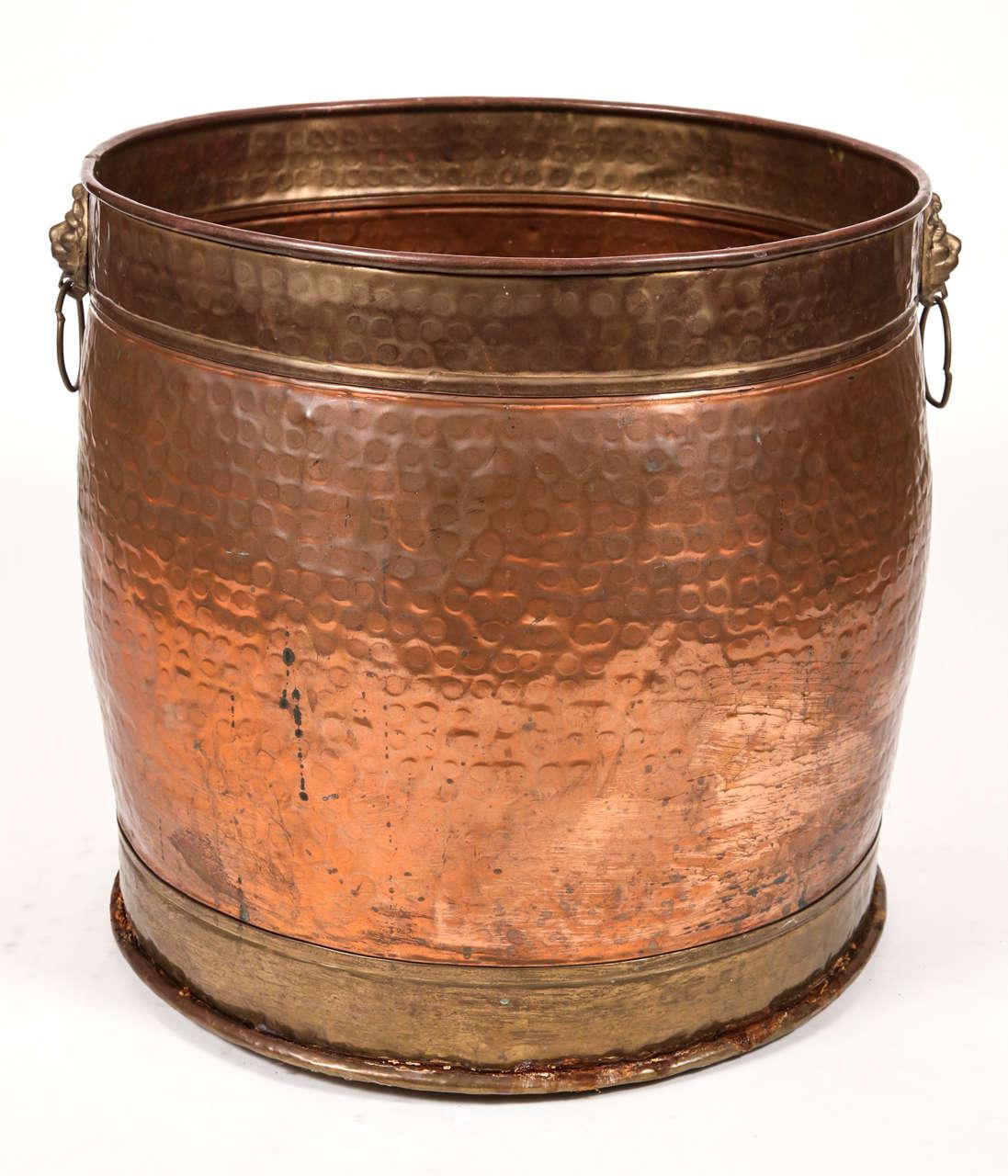 Hammered Copper Pot 2