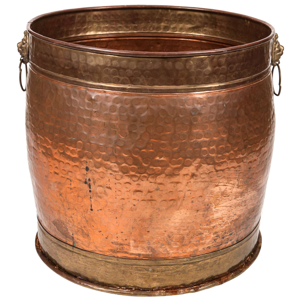 Hammered Copper Pot 1
