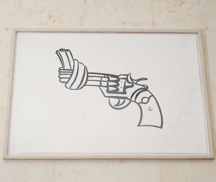 Non Violence by Carl Fredrik Reutersward 2