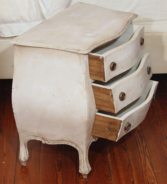 Pair of Swedish Style Painted Nighstands or Side Tables image 6