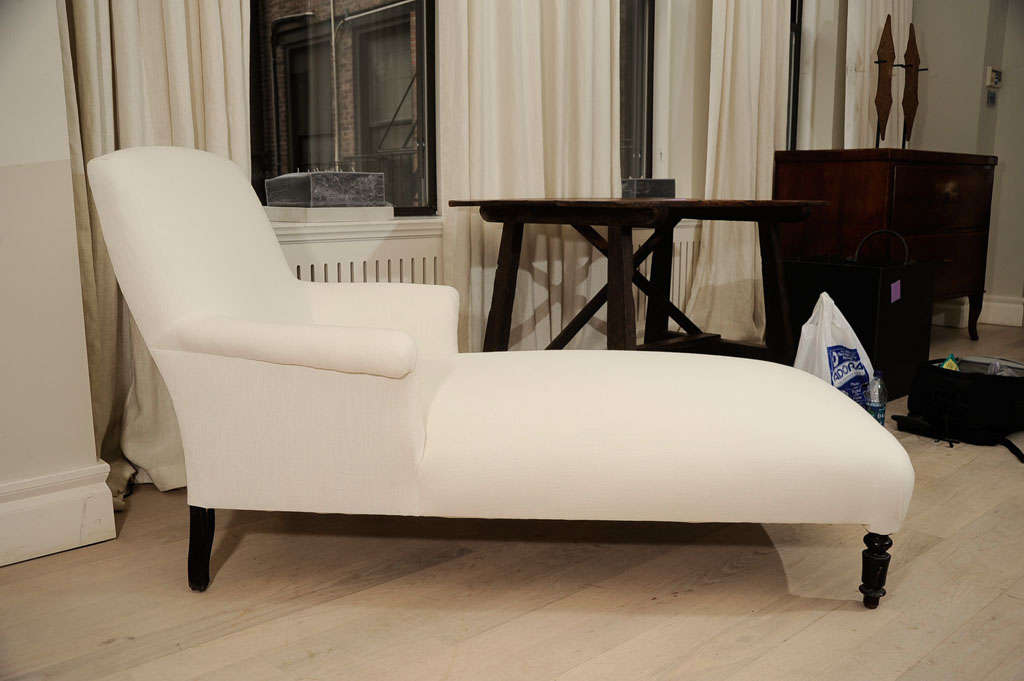 19th century napoleon iii chaise at 1stdibs for Chaise napoleon 3
