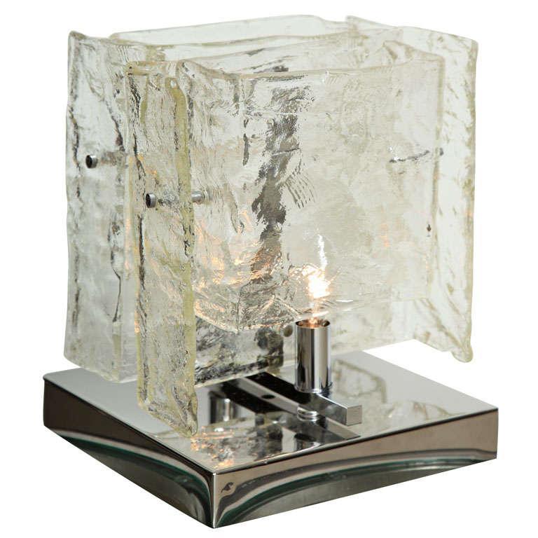 Carlo Nason Mazzega Table Lamp, 1960s For Sale