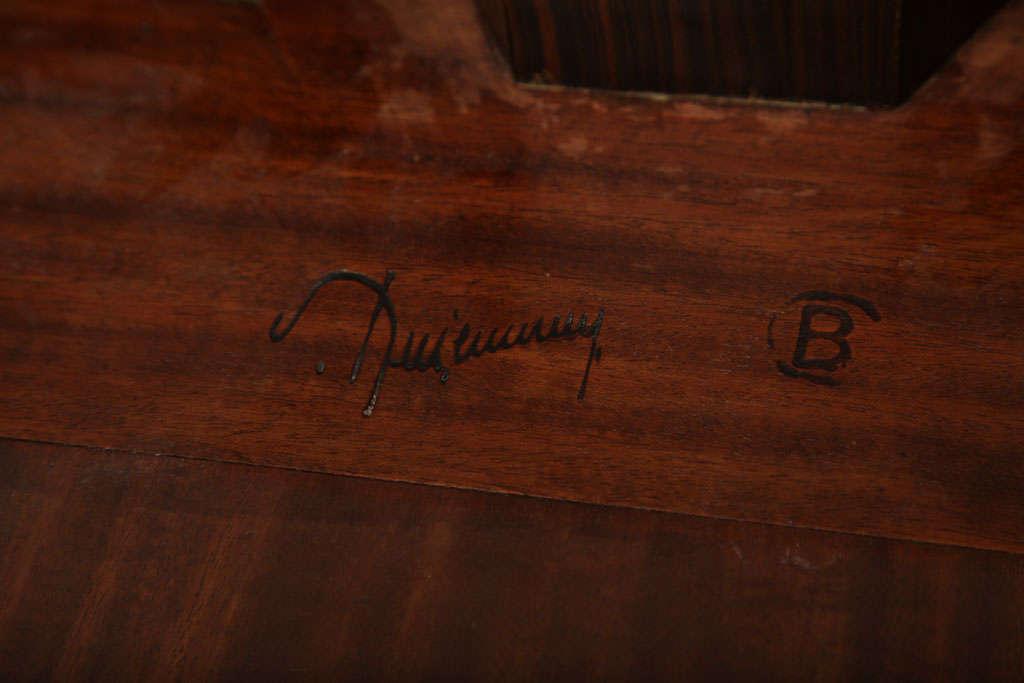 Emile-Jacques Ruhlmann French Art Deco Macassar Ebony 'Bas Ducharne' Table For Sale 2