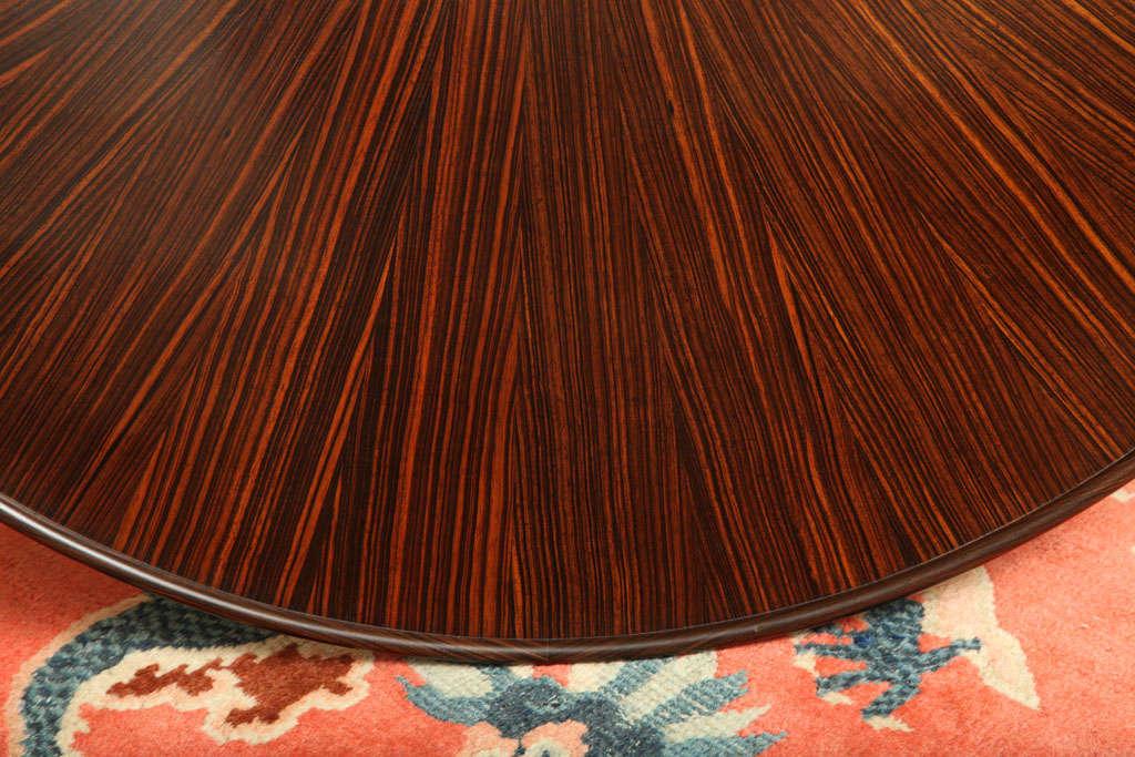 Emile-Jacques Ruhlmann French Art Deco Macassar Ebony 'Bas Ducharne' Table For Sale 4