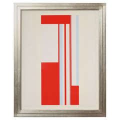 "Ilya Bolotowsky ""Series 1"" Screenprint in Colors"