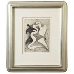 "Max Ernst ""Correspondances Dangereuses"" Etching"