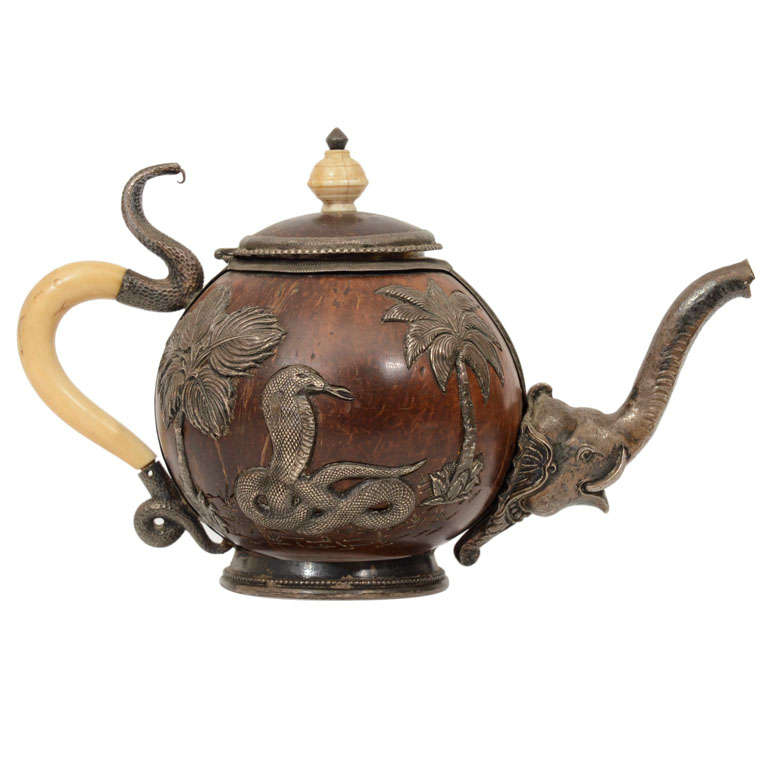 Anglo Indian Teapot At 1stdibs