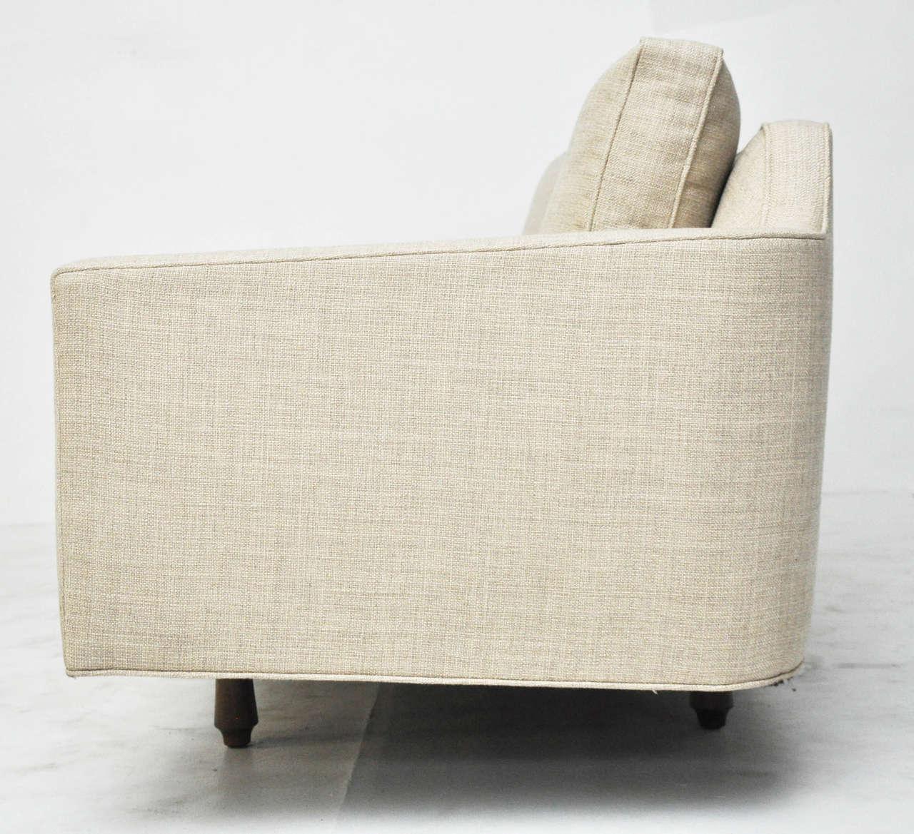 Dunbar Curved Back Sofa by Edward Wormley 8
