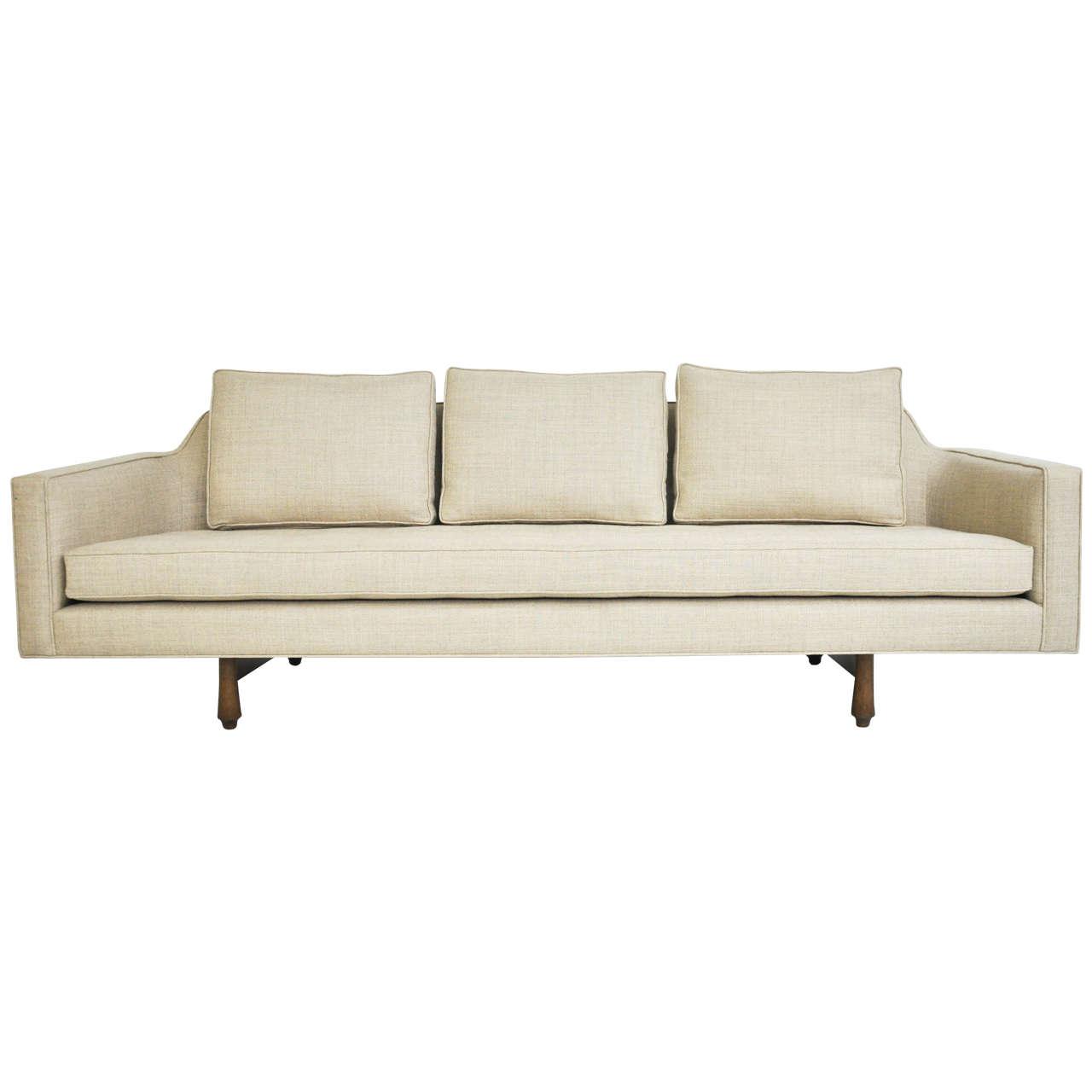 Dunbar Curved Back Sofa By Edward Wormley At 1stdibs