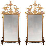 Pair of Italian Neo Classic Mirrors