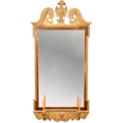 Fine George II Parcel-Gilt Mirror