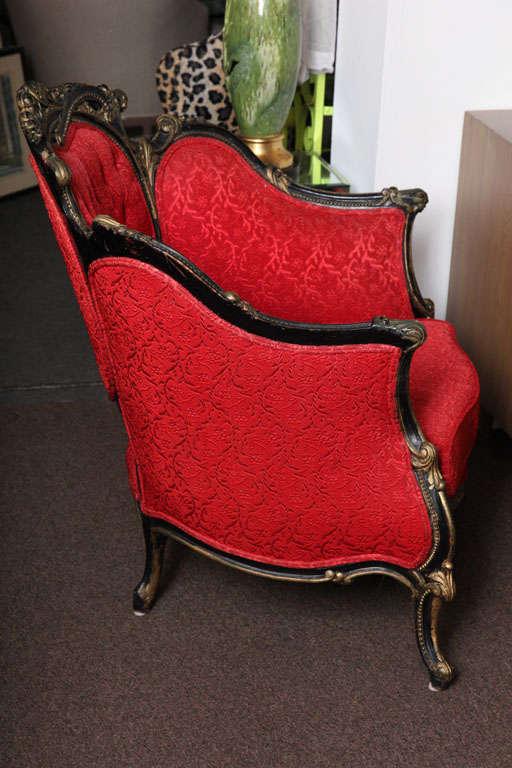 Lavish Royal Baroque Chair At 1stdibs