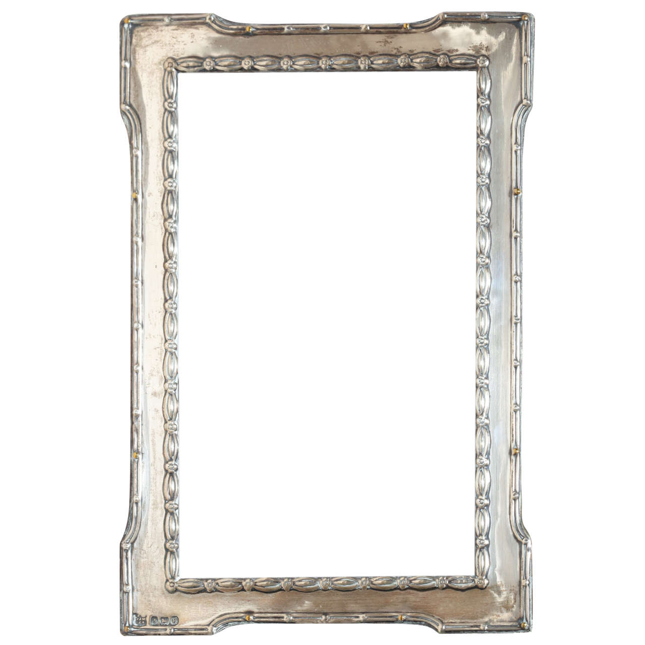 english art deco silver photograph frame 1