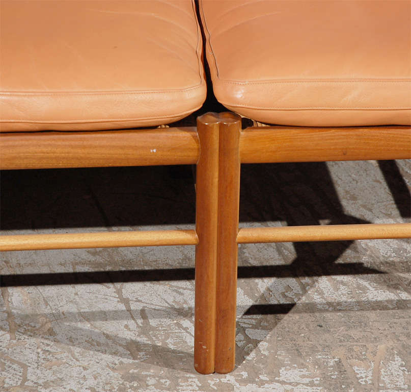 Danish Ole Wanscher Two-Seat Settee For Sale