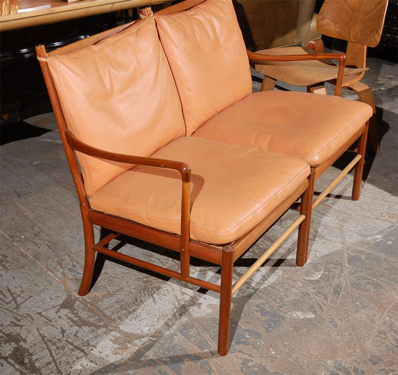 Ole Wanscher Two-Seat Settee For Sale 1