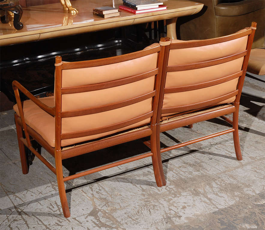 Ole Wanscher Two-Seat Settee For Sale 3